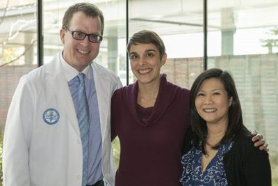 Battling Brain Cancer, Living Life photo of cancer patient with doctors