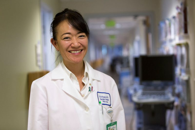 A Better Way to Assess Ovarian Cancer Risk photo of Betty Suh Burgmann, MD