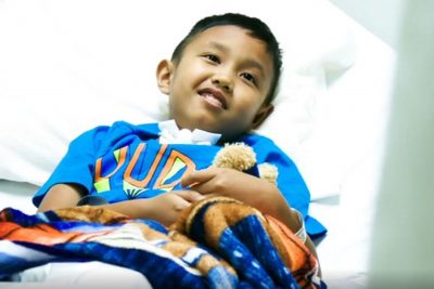 Young Patient Gets Life-Altering Care photo of young boy