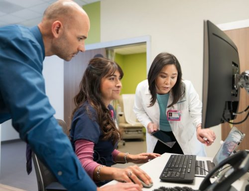 Predictive Model Paired with Case Management Reduces Hospital Readmissions